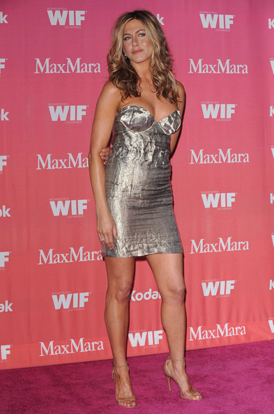 Wearing A Strapless Mini At A 2009 Women In Film Event