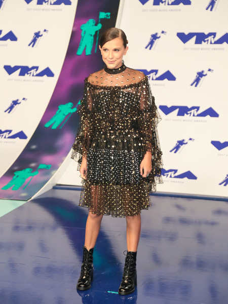 Millie Bobby Brown At The 2017 MTV Video Music Awards