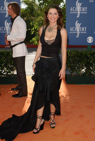 Shania Twain At The Academy Of Country Music Awards, 2003