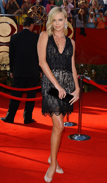 Charlize Theron 2005 Emmy Awards