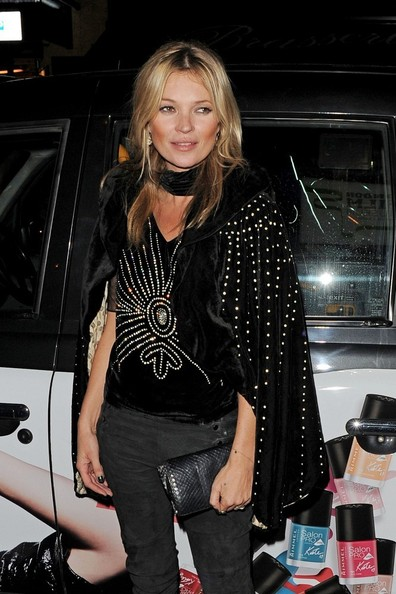 Kate Moss' Studded Velvet Cape