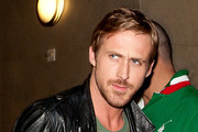Ryan Gosling prepares to depart LAX (Los Angeles International Airport) with his dog.