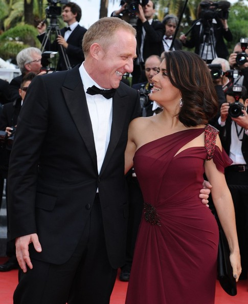 Salma Hayek And Francois-Henri Pinault At The 2010 Cannes Film Festival