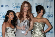 Celebrities in the press room at the 2011 People's Choice Awards at the Nokia Theatre in Los Angeles, CA.