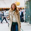Style Inspiration: Jessica Hart's Autumn Layers