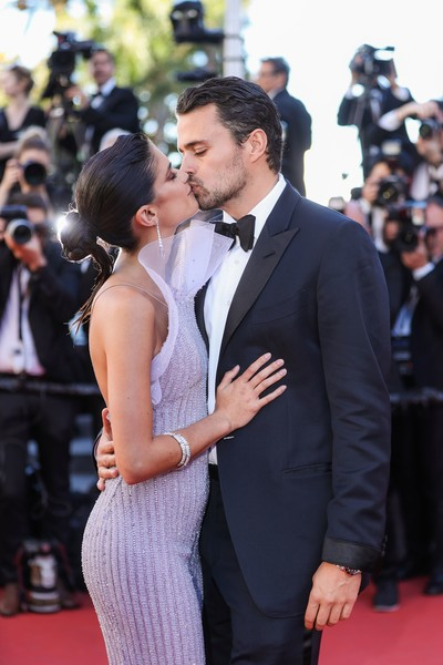 Sara Sampaio And Oliver Ripley At The 2017 Cannes Film Festival