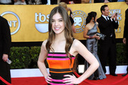 Actress Hailee Steinfeld  arrives at the 17th Annual Screen Actors Guild Awards held at The Shrine Auditorium on January 30, 2011 in Los Angeles, California.