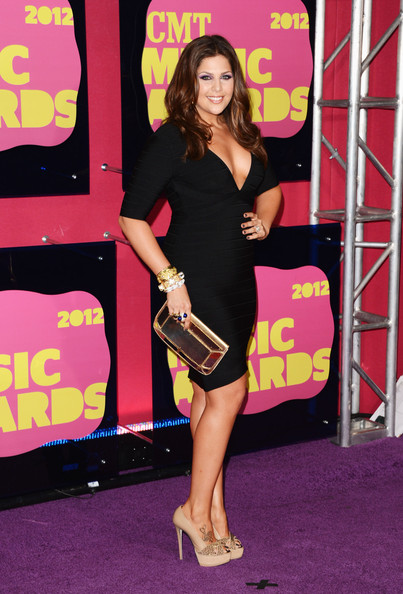 Hilary Scott At The 2012 CMT Awards