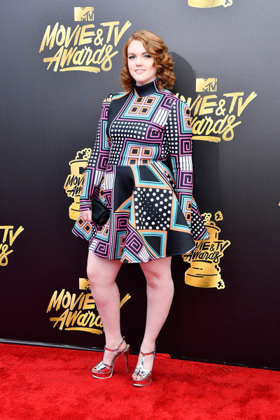 Shannon Purser At The 2017 MTV Video Music Awards
