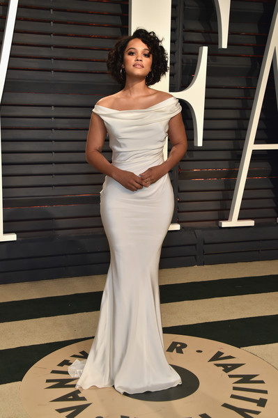 Kiersey Clemons in Romantic White