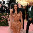In Glittering, Corseted Mugler At The 2019 Met Gala