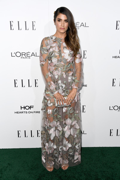 Nikki Reed in Sheer Embroidery