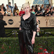 Gwendoline Christie in a Sequined Jumpsuit