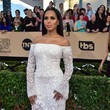 Kerry Washington in Off-the-Shoulder White