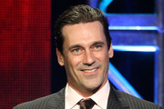 Actor Jon Hamm accepts Individual Achievement in Drama Award for