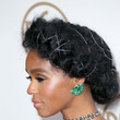 With A Romantic, Silver-Embellished Crown Braid