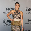 Shailene Woodley in Mix-and-Match Gold