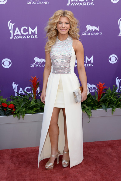 Kimberly Perry In A Miniskirt Gown, 2013