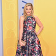 Lauren Alaina in a Floral Fishtail Dress