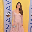 Aly Raisman in Sheer Pink