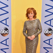 Reba McEntire in Long Sleeve Sequins