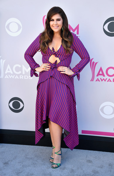 Hillary Scott In Proenza Schouler At The ACM Awards, 2017