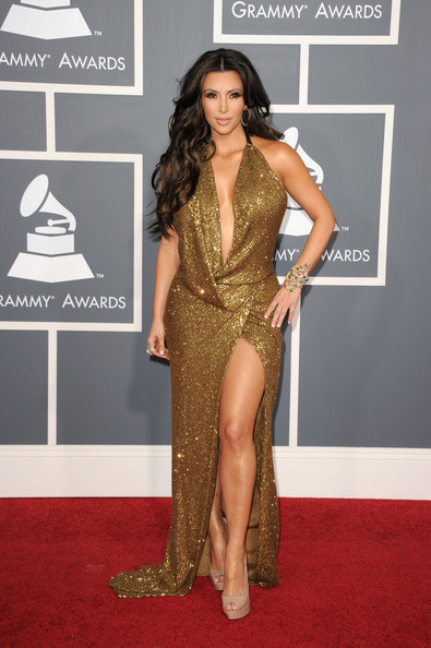 Kim Kardashian, 2011 Grammy Awards