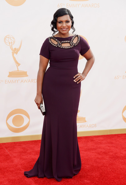 Mindy Kaling 2013 Emmy Awards
