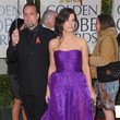 Sandra Bullock in Bottega Veneta at the 2010 Golden Globe Awards