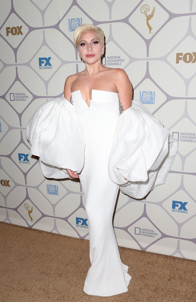 Lady Gaga in Brandom Maxwell at the 2015 Emmy Awards After-Party