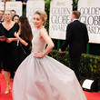 Piper Perabo in Olivier Theyskens at the 2012 Golden Globe Awards