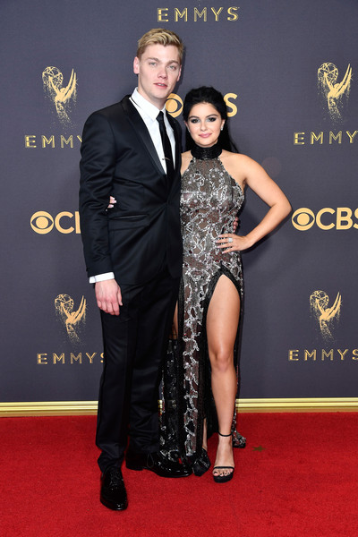 Ariel Winter and Levi Meaden