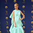 Poppy Delevingne In Giambattista Valli Couture At The Emmy Awards
