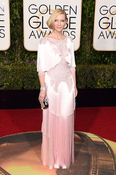 Cate Blanchett in Givenchy at the 2016 Golden Globes