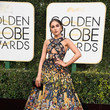 Olivia Culpo in Zuhair Murad at the Golden Globes