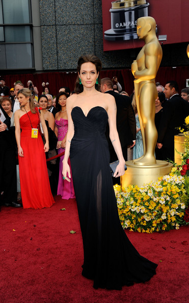 Wearing Elie Saab At The 2009 Academy Awards