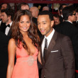 2007: Chrissy Teigen and John Legend