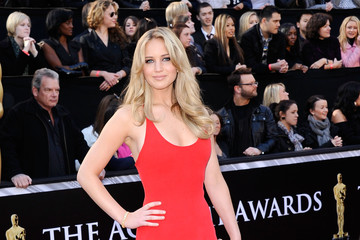 Jennifer Lawrence Oscars Dress Ranks #13 on Best Dressed List