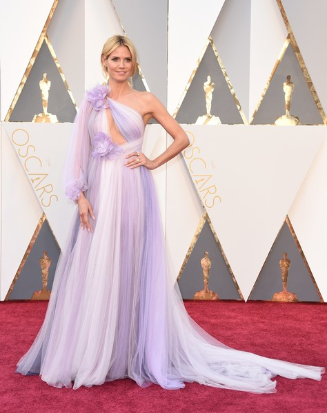 Heidi Klum at the 2016 Oscars