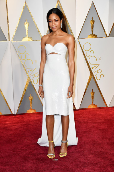 Naomie Harris at the 2016 Oscars