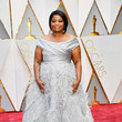Octavia Spencer in Feathered Silver