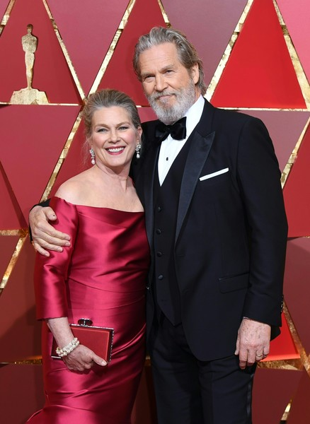 Jeff Bridges & Susan Geston
