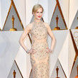 Nicole Kidman in an Embellished Column Dress