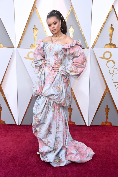 Andra Day at the 2018 Oscars