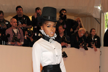 Janelle Monae Is Sharp in a Chanel Tuxedo at the 2011 Met Gala