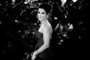 This image was processed using digital filters)  An alternative view of actress Sandra Bullock as she attends the Opening Ceremony And 'Gravity' Premiere during the 70th Venice International Film Festival on August 28, 2013 in Venice, Italy.