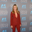 Arriving At The 2015 Critics' Choice Movie Awards In A Burnt Orange Pantsuit