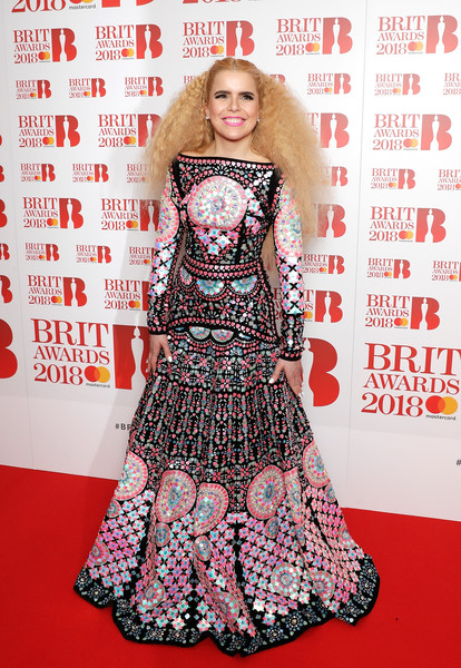 Paloma Faith In Manish Arora At The Brit Awards Nominations Photocall