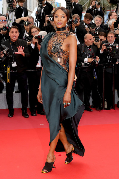 Naomi Campbell In Poiret At The Cannes Film Festival