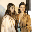 With Kendall Jenner Backstage At Milan Fashion Week, Spring/Summer 2018